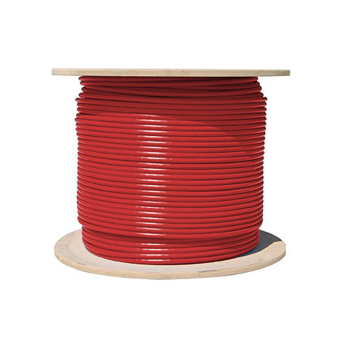 Vertical Cable Cat5e-Bulk-SO-RD - Bulk Cat5e Solid Networking Cable [RED]