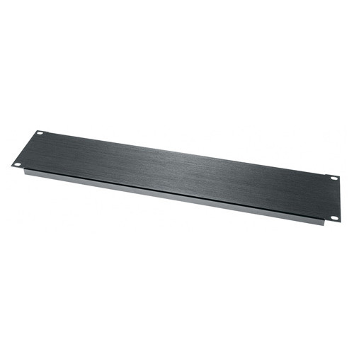Middle Atlantic BL2 - 2u Flanged Aluminum Blanking Panel