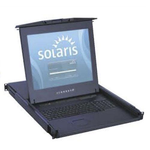 """1u 16 Port Sun Solution 17"""" LCD KVM Combo"""
