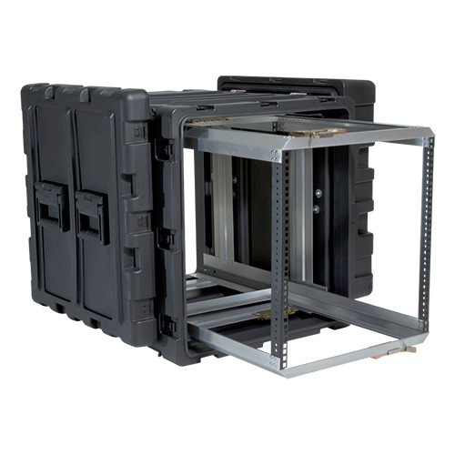 11U Case with Slide Out Rack