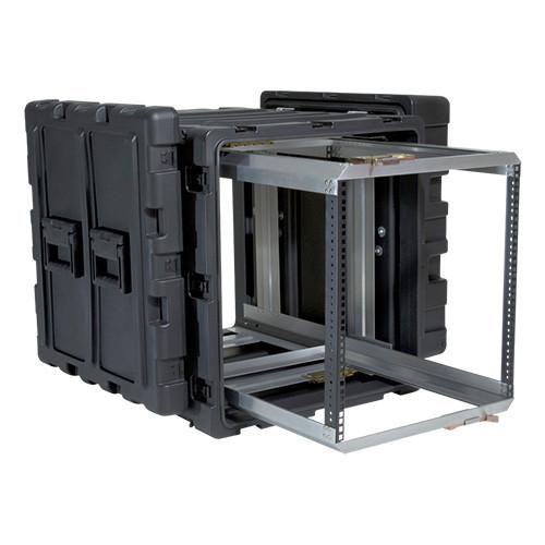 11U Case with Slide Out Rack