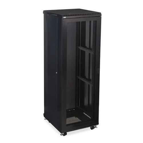 """Kendall Howard 3107-3-024-37 - 37U LINIER Server Cabinet - Vented/Vented Doors - 24"""" Depth"""