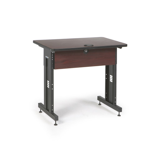 36W x 24D Training Table - Mahogany