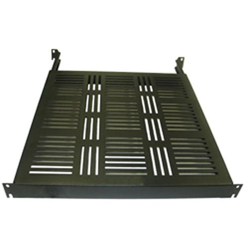 "Rackmount Solutions FSV1924-30 - 1u 24-30"" Adjustable 4 Post Vented Rackmount Shelf"