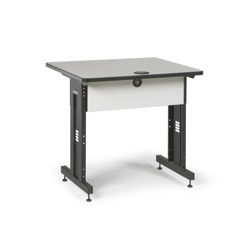36W x 30D Training Table - Folkstone Gray