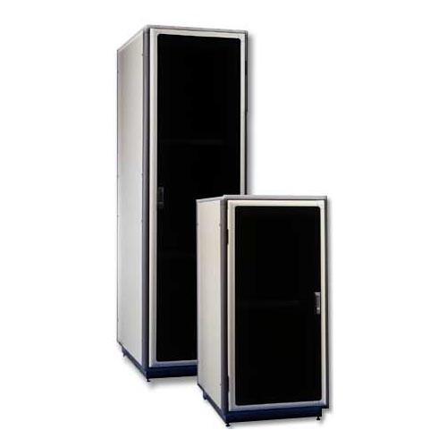 """42u 19""""w Server Rack - Plexi Doors 36""""d"""