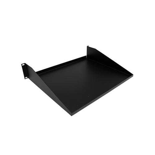 Rackmount Solutions 34-105000 - 2 Post Rackmount Shelf, Black