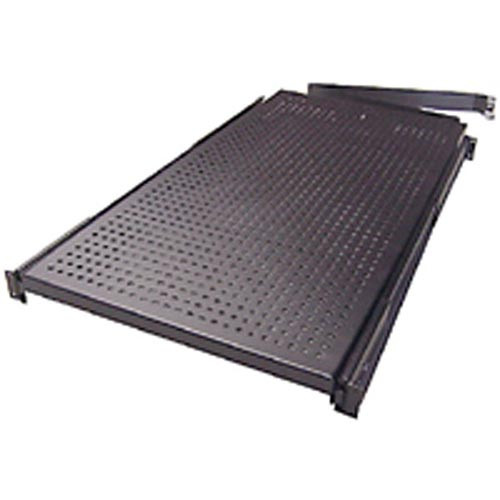 Rackmount Solutions SS1933 - 1u Vented 4 Post Sliding Shelf, 33 inches deep