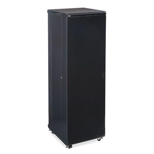 "Kendall Howard 3106-3-024-42 - 42U LINIER Server Cabinet - Solid/Vented Doors - 24"" Depth"