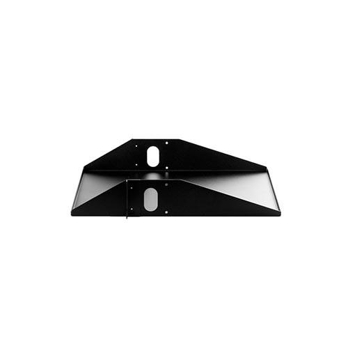 Rackmount Solutions 34-105400 - Center Mount Solid Shelf, Black