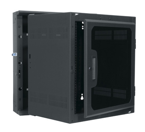 Middle Atlantic DWR-10-17PD 10u Wallmount Cabinet - Plexiglass Front Door