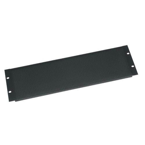 3u Flanged, 16-gauge Perforated Steel Vent Panel