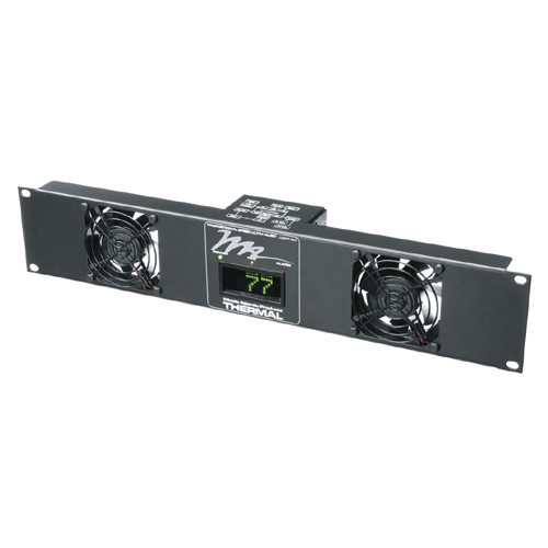 Middle Atlantic UQFP-2D - 2u Ultra Quiet Fan Panel