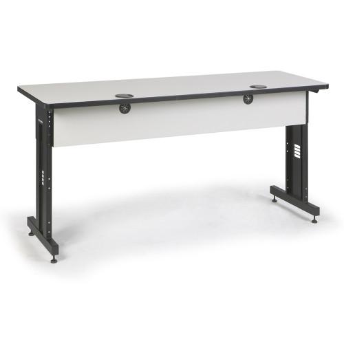 72W x 24D Training Table - Folkstone Gray