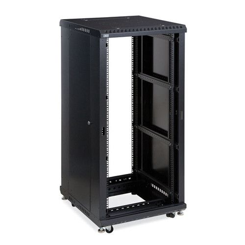 "Kendall Howard 3180-3-024-27 - 27U LINIER Open Frame Server Rack - No Doors - 24"" Depth"