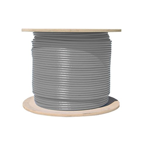 Vertical Cable Cat5e-Bulk-SO-GY - Bulk Cat5e Solid Networking Cable [GRAY]