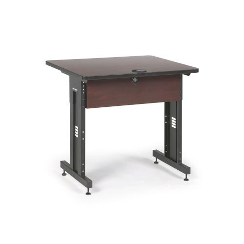 36W x 30D Training Table - Mahogany