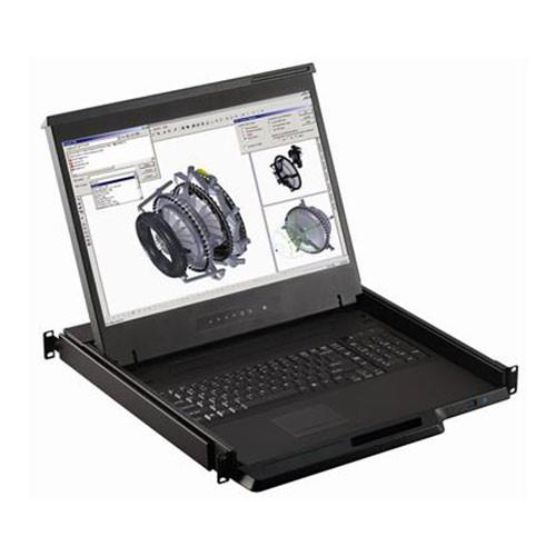 "1u 16 Port 19"" LCD Monitor KVM Console W119-UIP1602b"