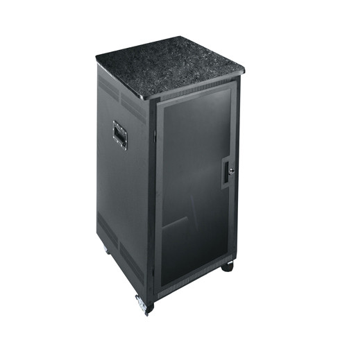"21u 24.5""D 19 Gangable Rack - Graphite Laminate Top"