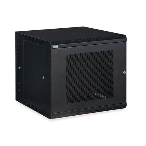 Kendall Howard 3132-3-001-12 - 12U LINIER Swing-Out Wall Mount Cabinet - Vented Door