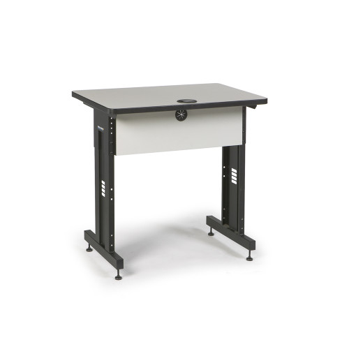 36W x 24D Training Table - Folkstone Gray