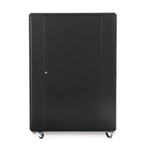 "Kendall Howard 3103-3-001-27 - 27U LINIER Server Cabinet - Glass/Glass Doors - 36"" Depth"