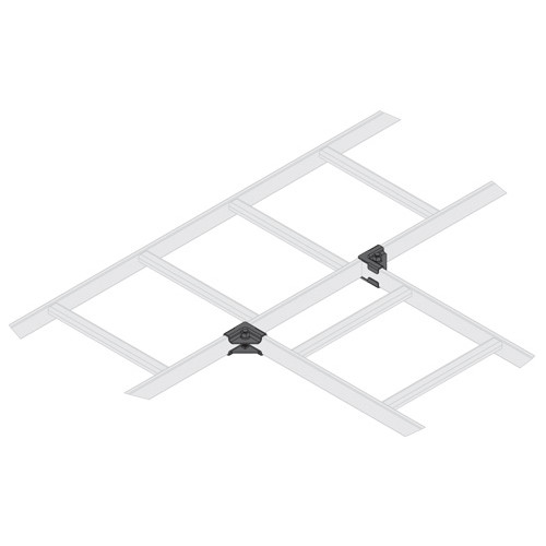 Middle Atlantic CLH-HTS - Horizontal 90 Degree Tee Splice Hardware