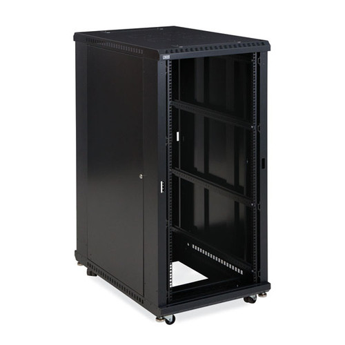 "Kendall Howard 3180-3-001-27 - 27U LINIER Open Frame Server Rack - No Doors - 36"" Depth"