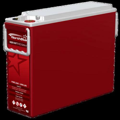 NSB 100FT Red Batteries