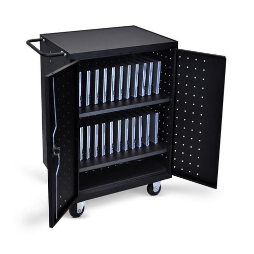 24 Laptop Computer Charging Cart LLTP24-B