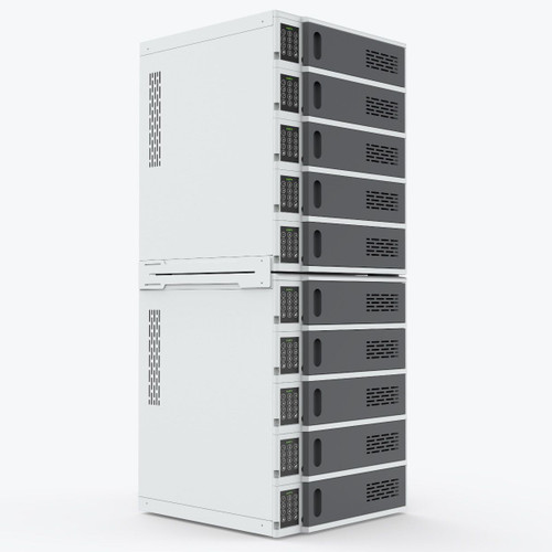 10-Bay Charging Locker for Mobile Devices