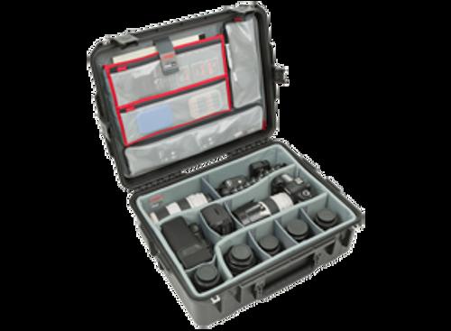 iSeries 2217-8 Case w/ Dividers & Lid Organizer SKB 3i-2217-8DL