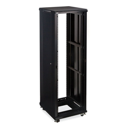 "Kendall Howard 3180-3-024-42 - 42U LINIER Open Frame Server Rack - No Doors - 24"" Depth"