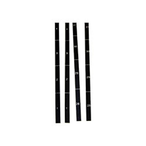 Rackmount Solutions U-LABEL-2 - Rack Ruler
