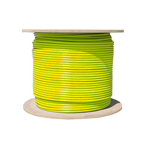 Vertical Cable Cat5e-Bulk-SO-YL - Bulk Cat5e Solid Networking Cable [YELLOW]