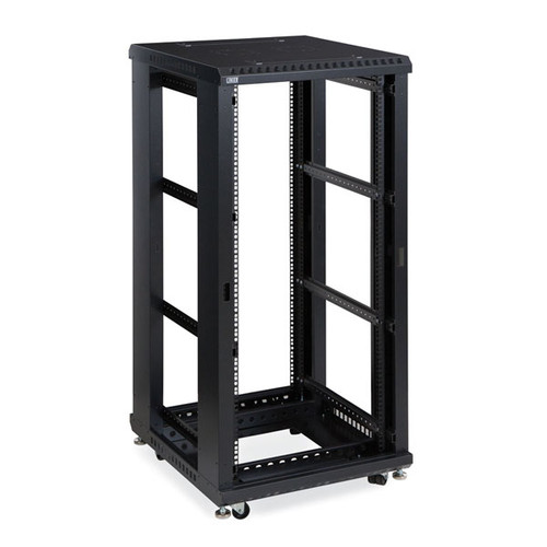 "Kendall Howard 3170-3-024-27 - 27U LINIER Open Frame Server Rack - No Doors/Side Panels - 24"" Depth"
