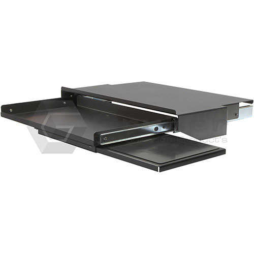 Rackmount Solutions 34-105035 - Pullout Keyboard Shelf with Mouse Tray