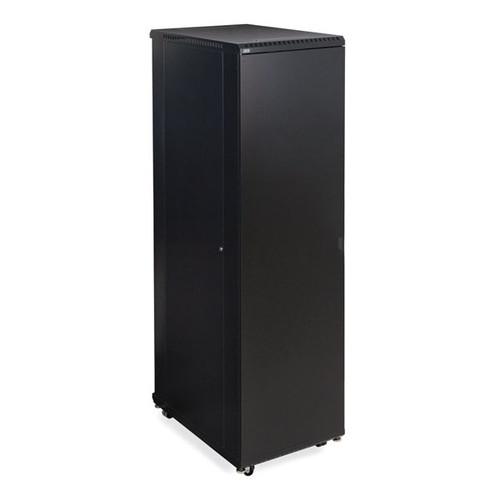 "Kendall Howard 3108-3-001-42 - 42U LINIER Server Cabinet - Solid/Solid Doors - 36"" Depth"