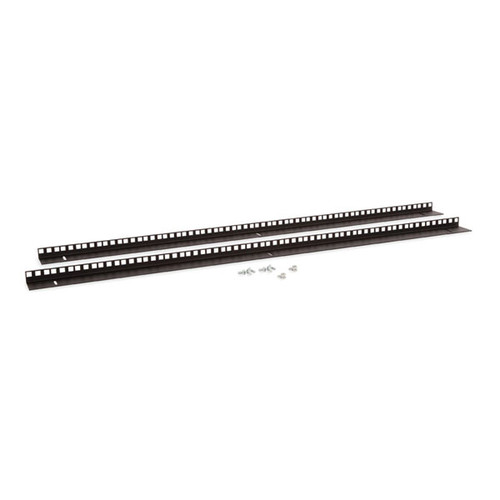 Kendall Howard 3150-3-001-22 - 22U LINIER Wall Mount Vertical Rail Kit - Cage Nut