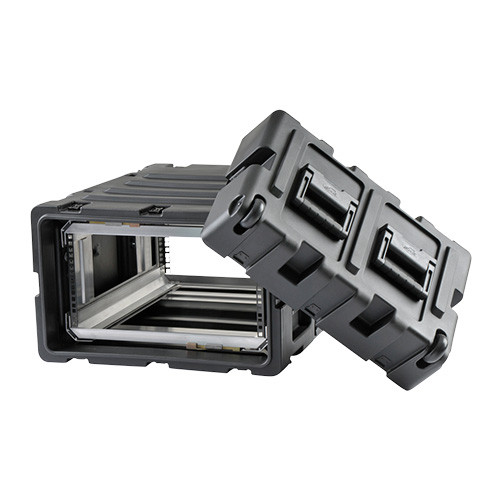 5U Case with Slide Out Rack