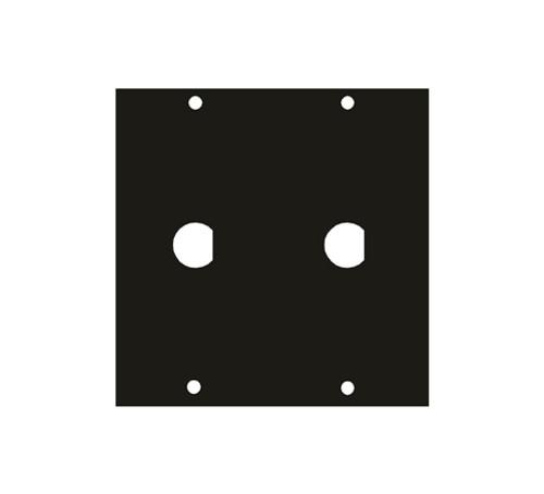 """UCP Module Two .5"""" BNC Punchouts 1/2BNC2"""
