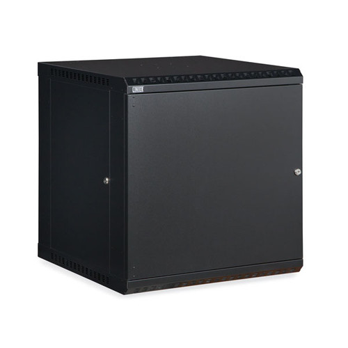 Kendall Howard 3141-3-001-12 - 12U LINIER Fixed Wall Mount Cabinet - Solid Door