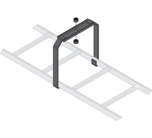 """6 Pack 12""""W Ladder Center Support Bracket Middle Atlantic CLB-CSB-6"""