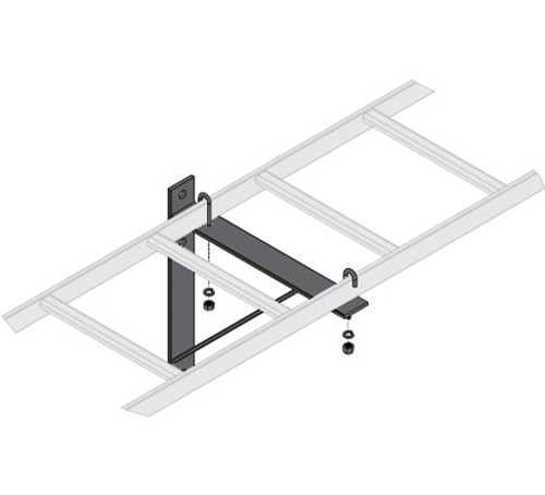 """6 Pack 12""""W Triangle Wall Support Bracket Middle Atlantic CLB-TSB-6"""