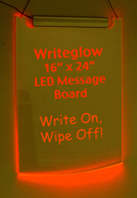 1 6¿x24¿ Red Lighted ¿Specials¿ Writing Board