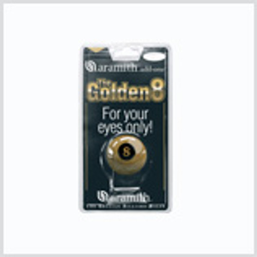 Aramith Golden 8 Ball
