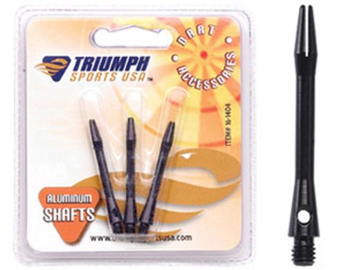 Black Aluminum Shafts (in-between length) - Set of 3