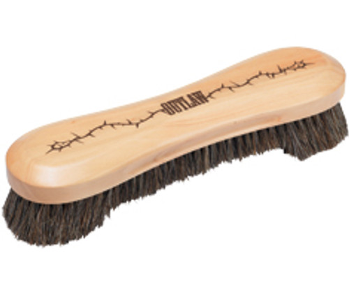 """Outlaw - 10.5"""" Horsehair Table Brush"""
