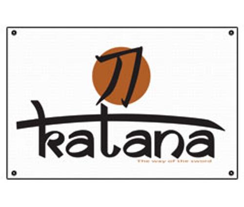 Katana Vinyl Banner