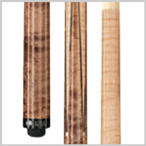 Wood: Birds-eye Maple  Joint: Wood-to-wood Uni-loc® Tip: Premium Everest   Weight: Standardized weighting system 18oz-21oz available  Butt cap: Black Implex